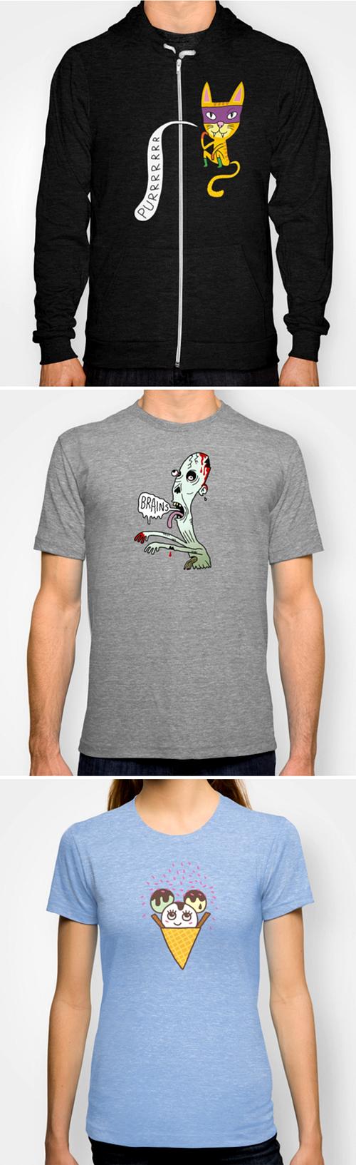 alla tshirts till bloggen