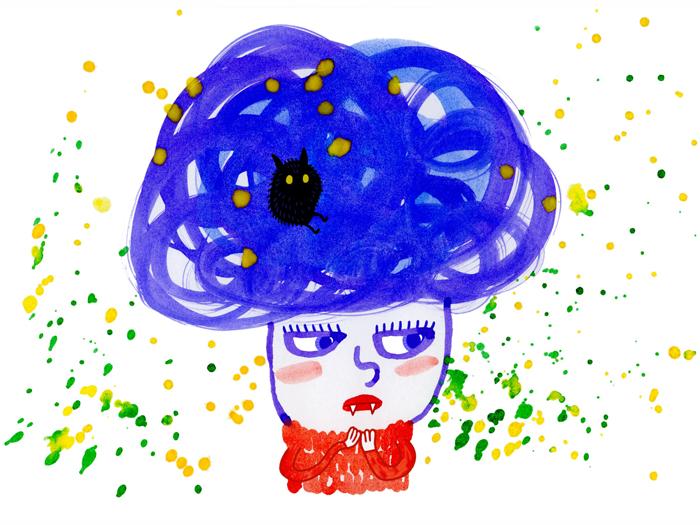 blått krullhår-2